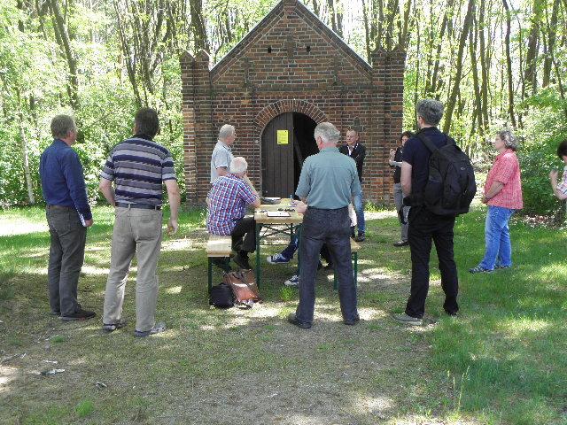 Winterquartier für Fledermäuse / Friedhofshalle Bühlow