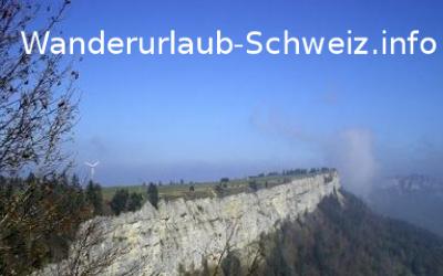 Wanderferien Westschweiz - Naturpark Westschweiz