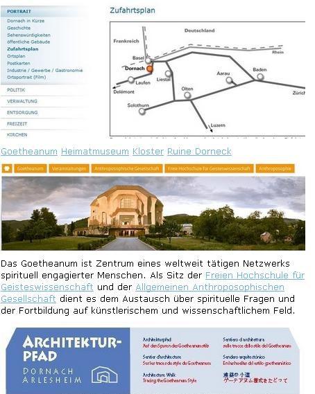 Goetheanum in der Tourismusregionen Solothurn