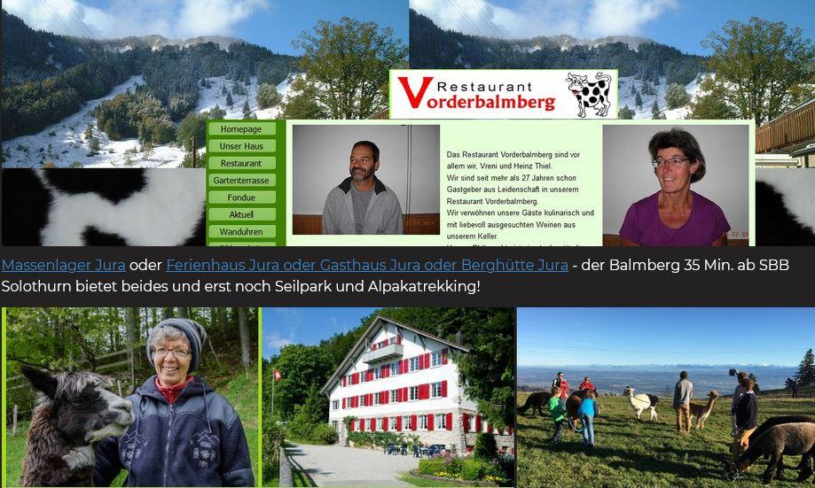 sanfter Tourismus im Jura