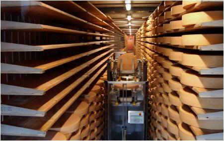 Käseherstellung besichtigen