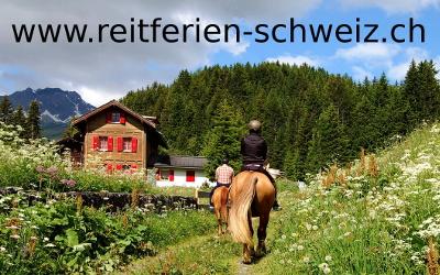 Reitferien Schweiz: Reitferien Jura, Mittelland, Wallis und bei Ihnen!