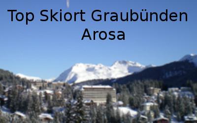 Gute Skiort Graubünden