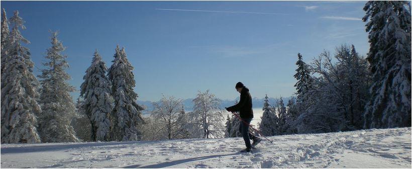 Schneeschuhtouren Winterferien Schweiz