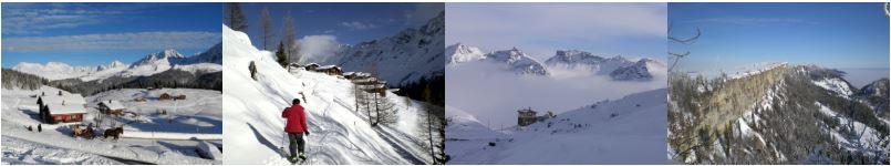 Wintersport in der Schweiz ist vielfältig. Sie lieben es mehrere Skiorte in einer Woche zu erleben? Ab dem Wasseramt gut möglich!