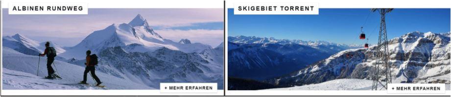 Skiurlaub mit Thermalbad in der Schweiz