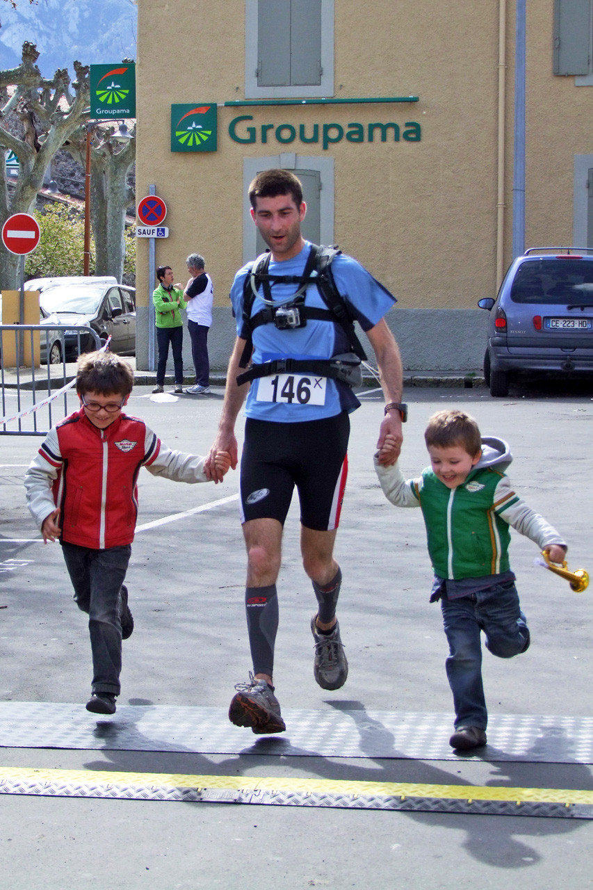 Trail Quillan 2014 - Arrivée