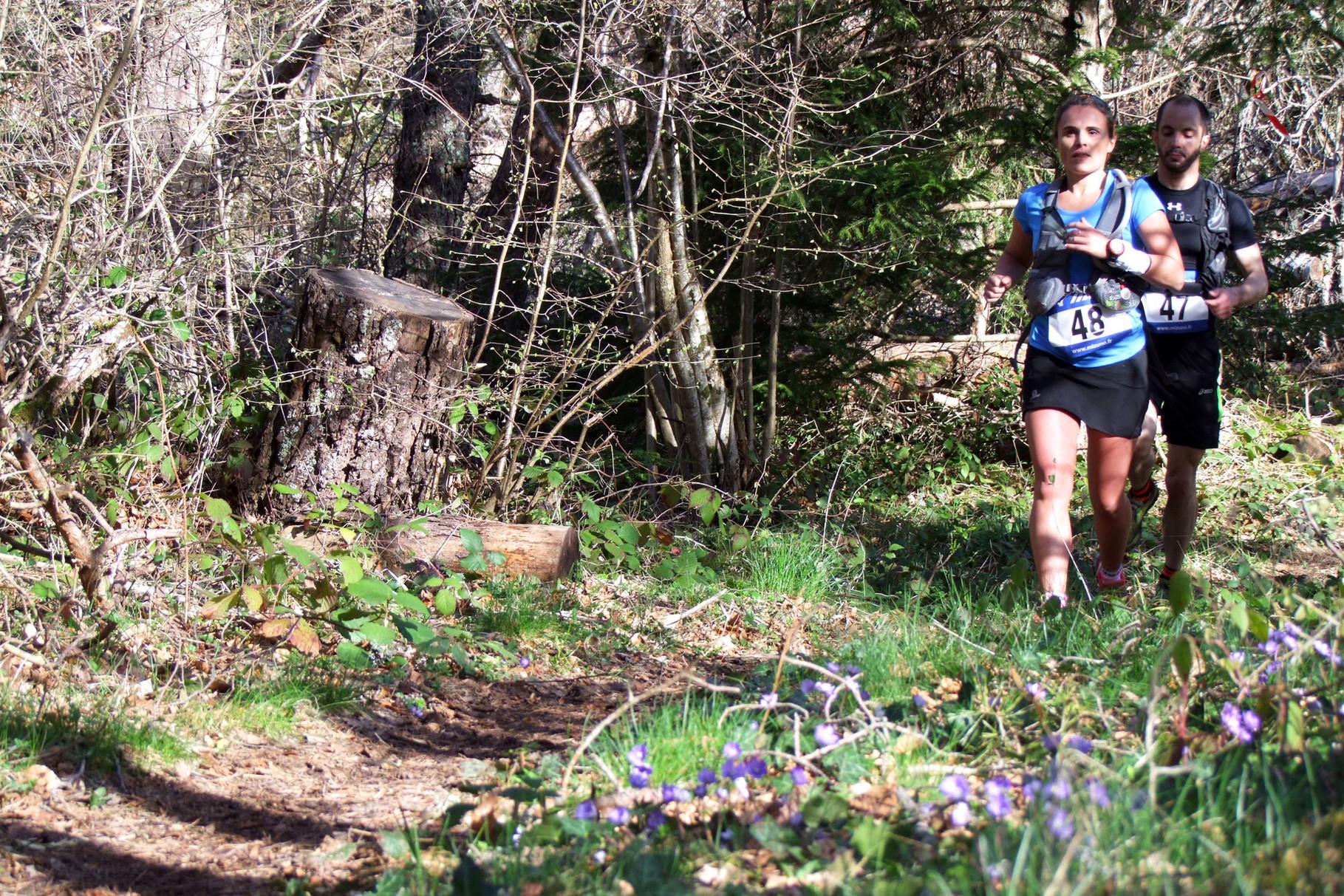 Trail Quillan 2014 - Descente Pech Tignous