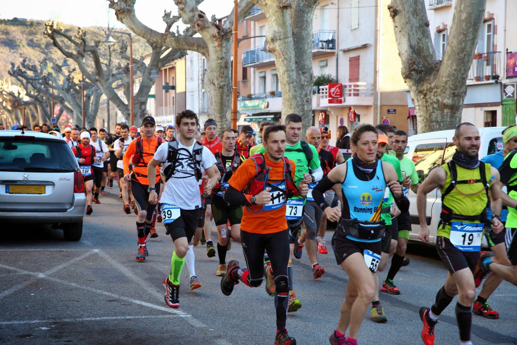 Trail Quillan 2014 - Départ
