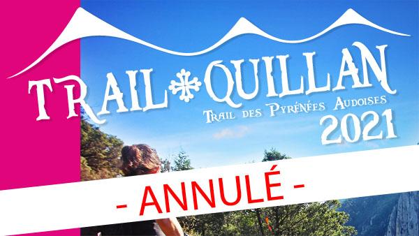 Le Trail Quillan 2021 est annulé