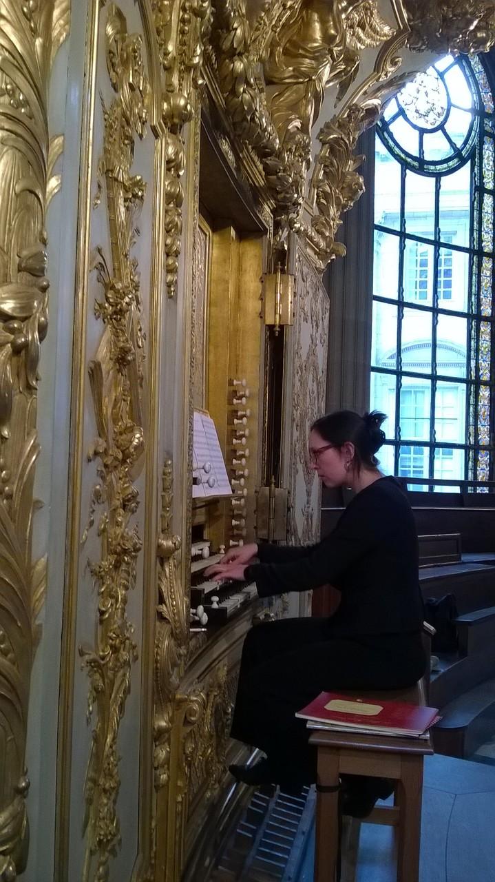 Sur l'orgue de la Chapelle Royale de Versailles