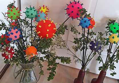 Atelier bübü (Corona-Blumen II)
