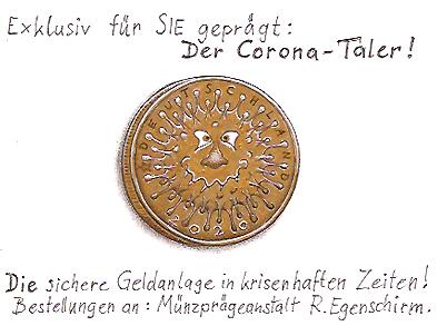 R.Egenschirm (...Corona-Taler)