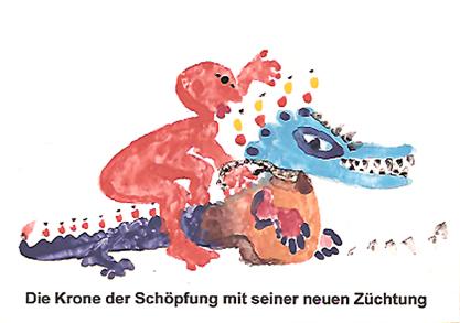Heinz Thurn, Nürnberg (Die Krone der Schöpfung mit seiner neuen Züchtung)