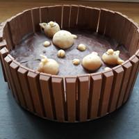Geburtstagskuchen Schoko-Schweinchen