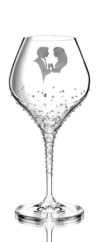 Weinglas Romance