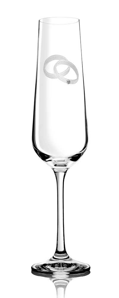 Sekt- und Champagnerglas AGAPE