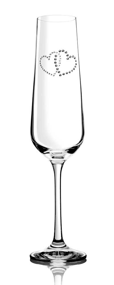 Sektglas Metta für verliebte