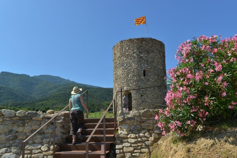 Le château et sa tour