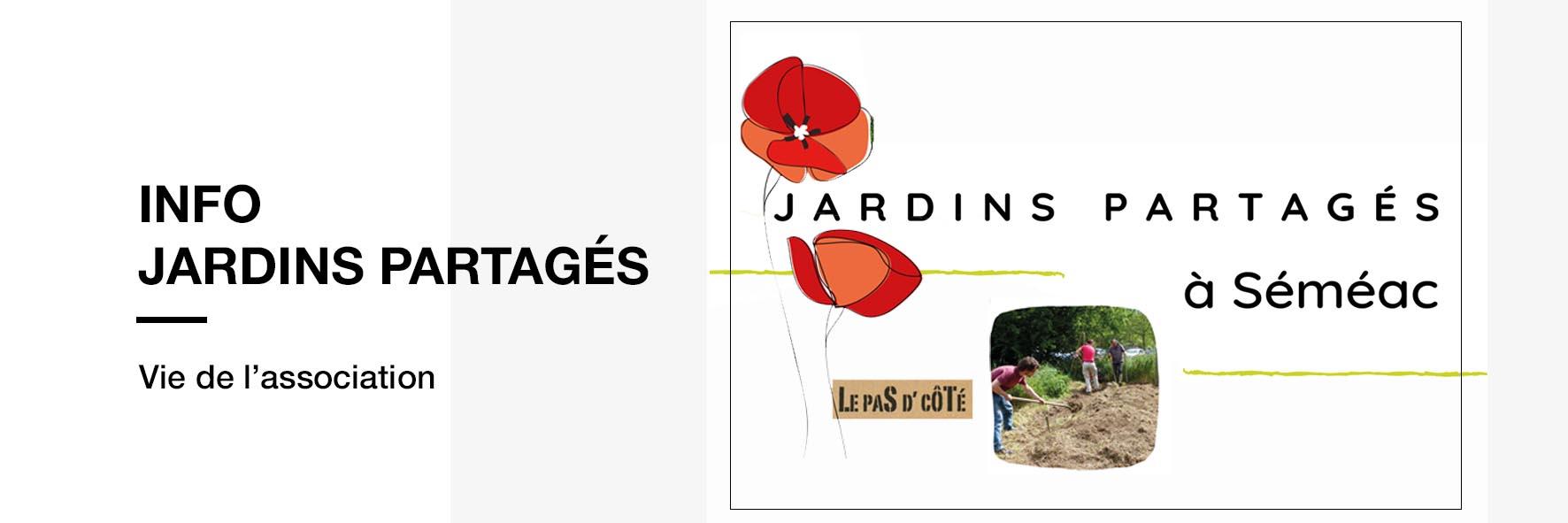 Informations sur les Jardins Partagés