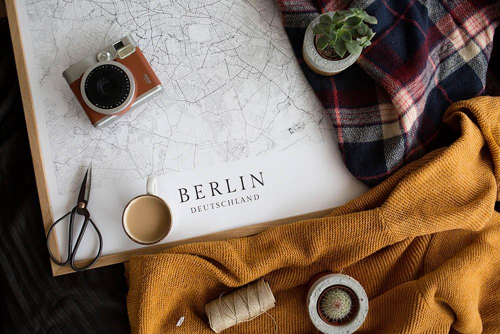 Poster Karte Städtekarte geschenkidee