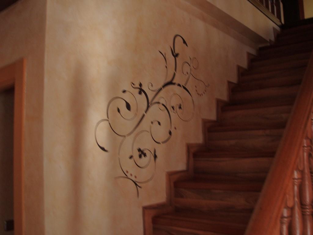 pared T:Florentinas pigmentada, y trazo de frlordeco.