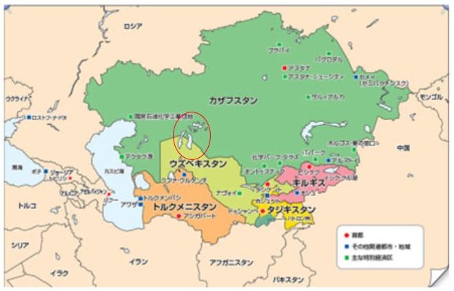 中央アジア5か国