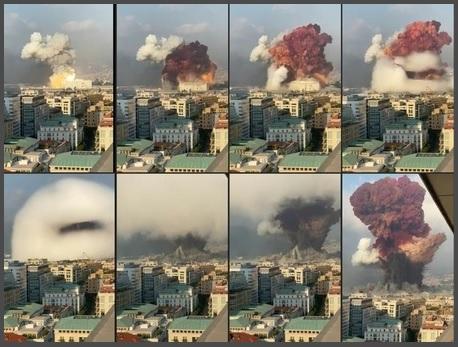 爆発 ベイルート
