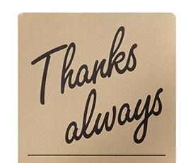 いつもありがとうございます