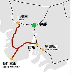 JR小野田線