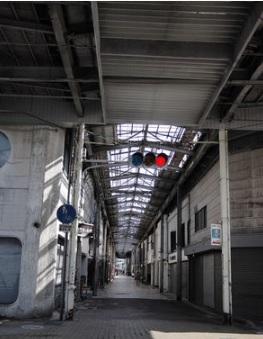 廃墟商店街