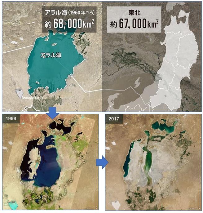 消えていったアラル海
