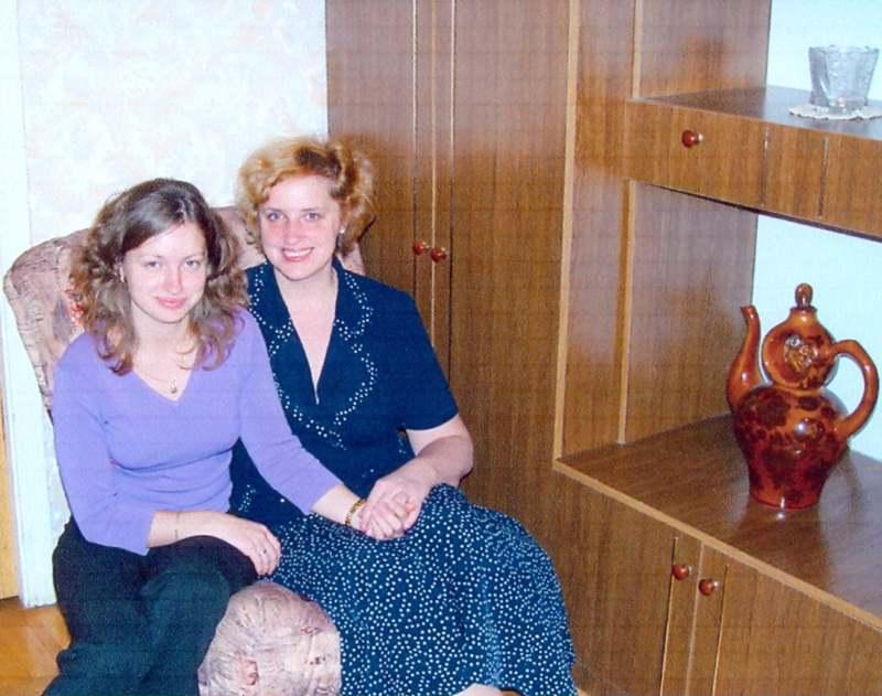 Дочь Евгения и внучка Людмила