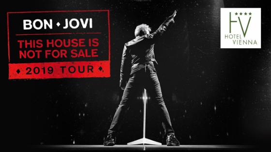 Bon Jovi zu Fuß prater vienna hotel riesenrad messe wien schweizerhaus zentrum nähe günstig lage billig austria trend motel one praterstern Stadion Liliput Bahn Konzert Ernst Happel Stadion
