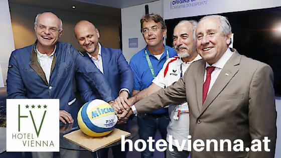 offiziell Beach Volleyball-WM 2017 in Wien Donauinsel Volleyball WM 2017 City Zentrum Hotel Vienna buchen booking günstig Prater Nähe Messe Urania