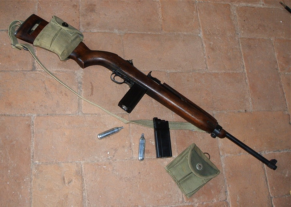 Wooden Carabine M1 ASG CO2