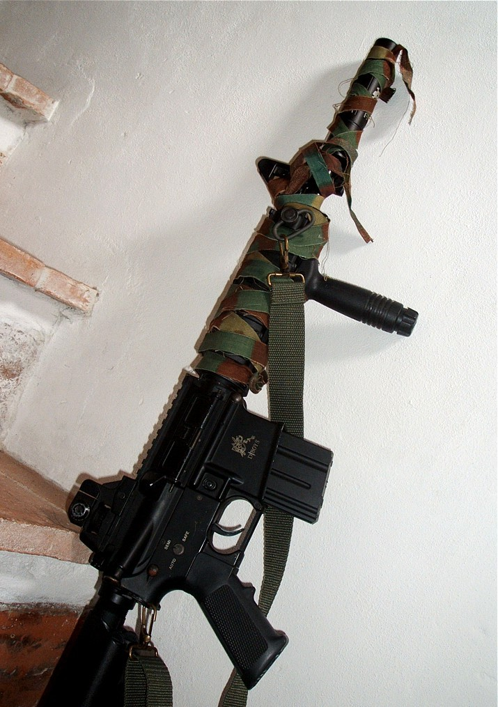 M4 CQB camo