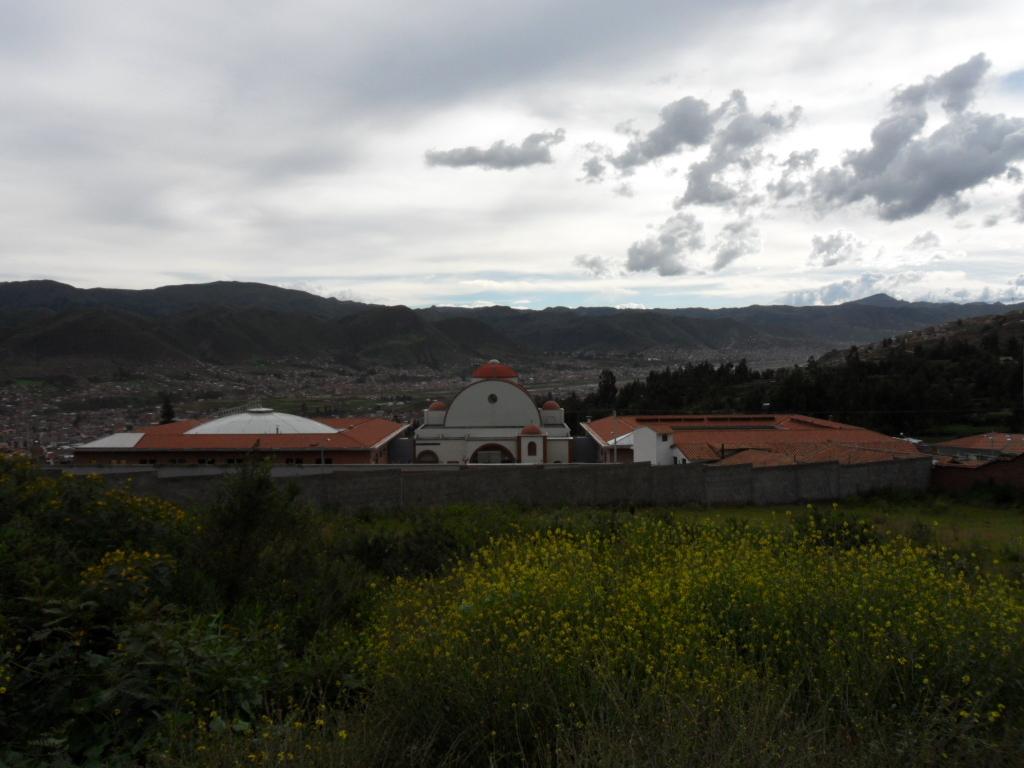 TEMPLO CONSTRUÍDO- VISTA PRINCIPAL (ATRIO)