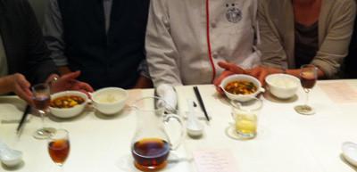 麻婆豆腐とご一緒の写真