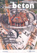 """Sonderdruck Thomas Richter """"Bauphysikalische Bewertung von Weißen Wannen im Wohnungsbau"""" aus Beton 4/2008"""