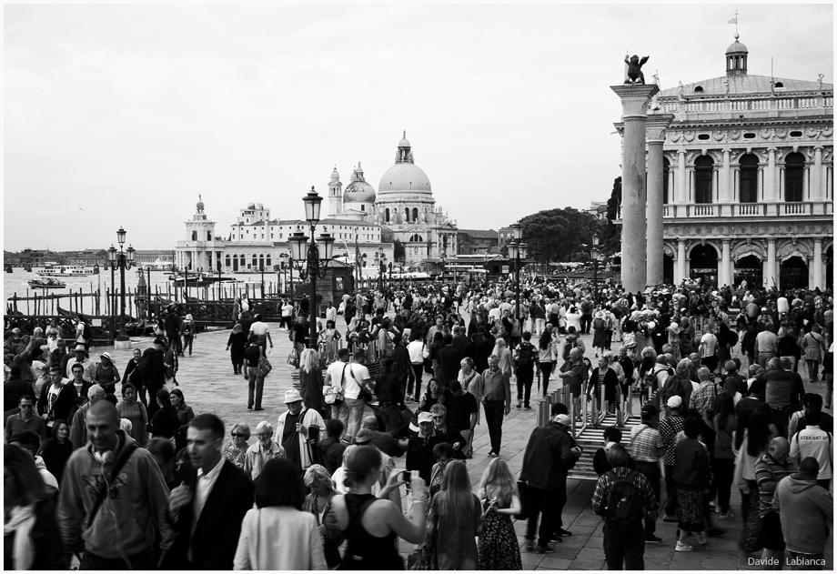 Turisti a Venezia