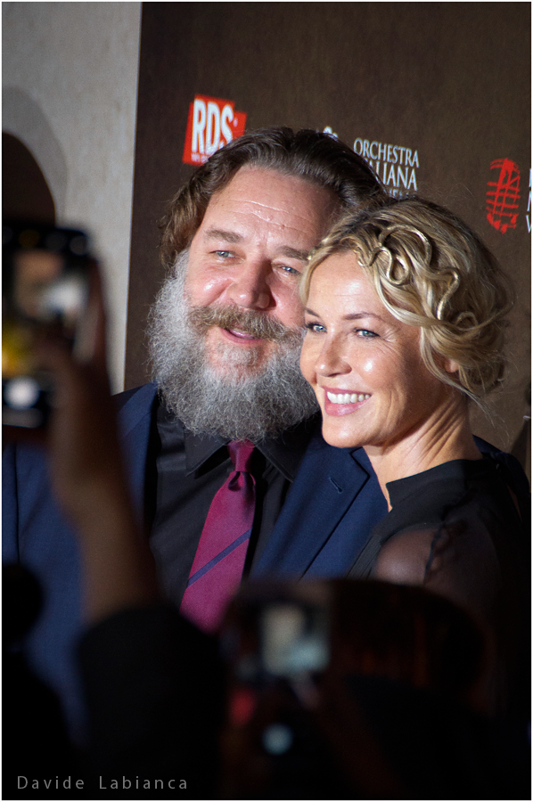 Russell Crowe e Connie Nielsen