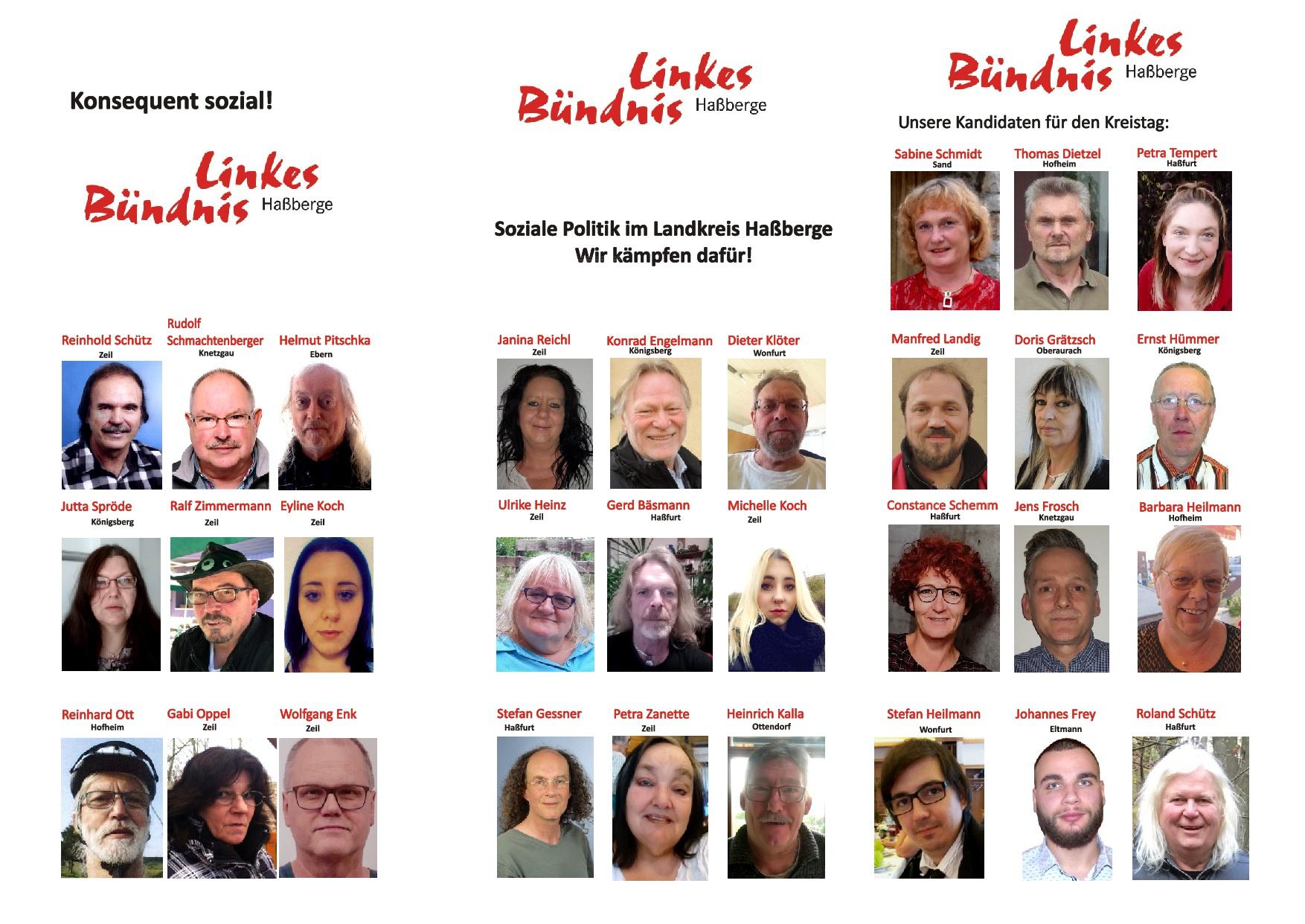 10.12.2019: Unser Flyer zur Kommunalwahl 2020 (Vorderseite)