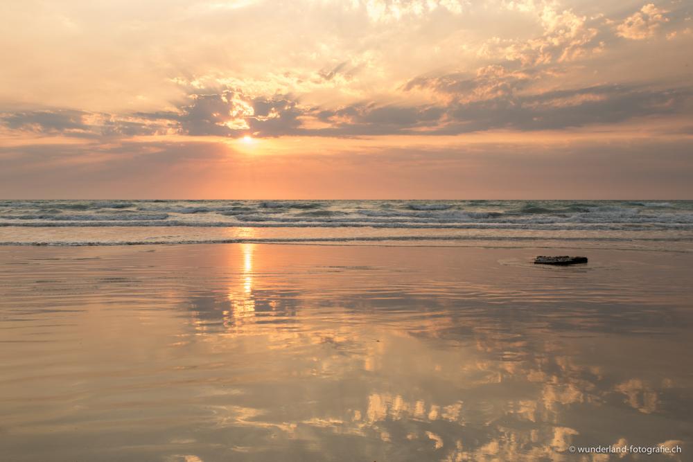 Broome ist bekannt für seine schönen Sonnenuntergänge.