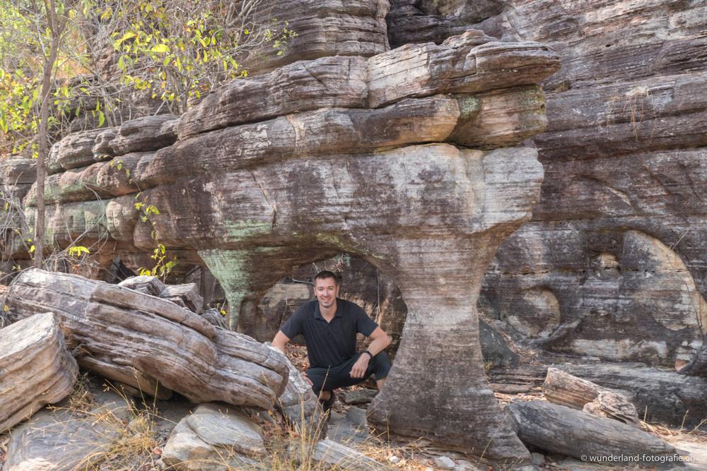 Sandsteinformationen bei Ubirr im Kakadu Nationalpark