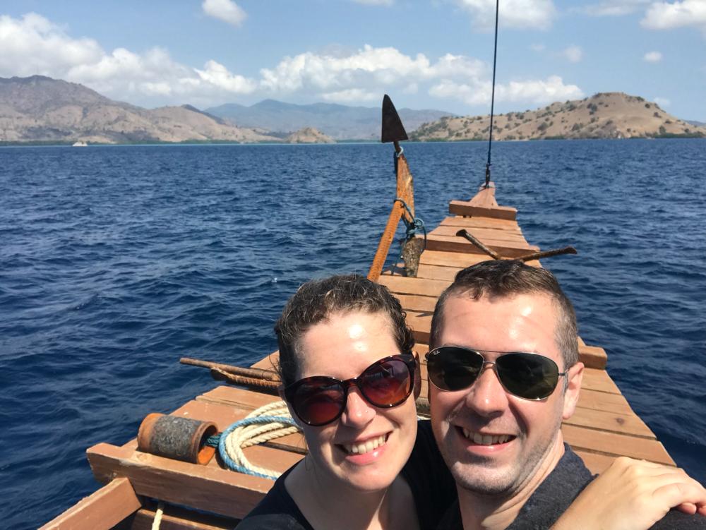 Drei Tage haben wir auf dem Schiff verbracht