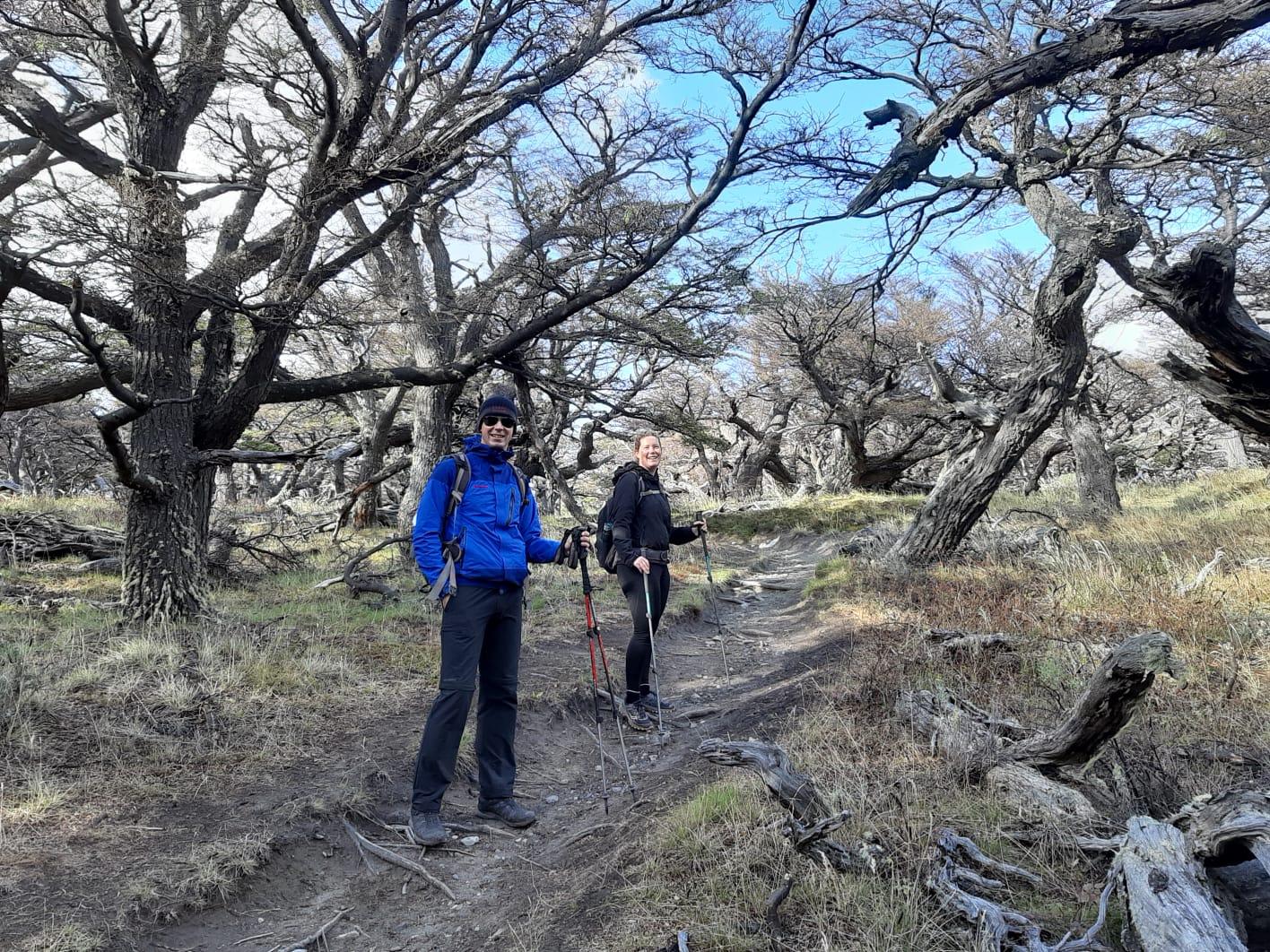 Wanderung zur bekannten Laguna de los Tres.