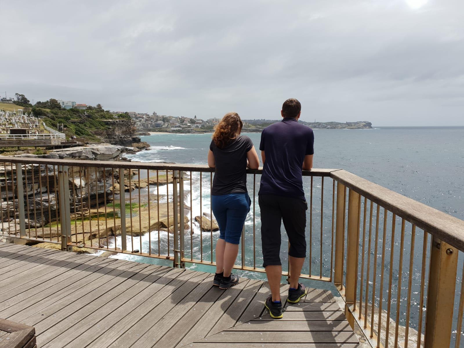 Wanderung von Cogee Beach nach Bondi Beach...