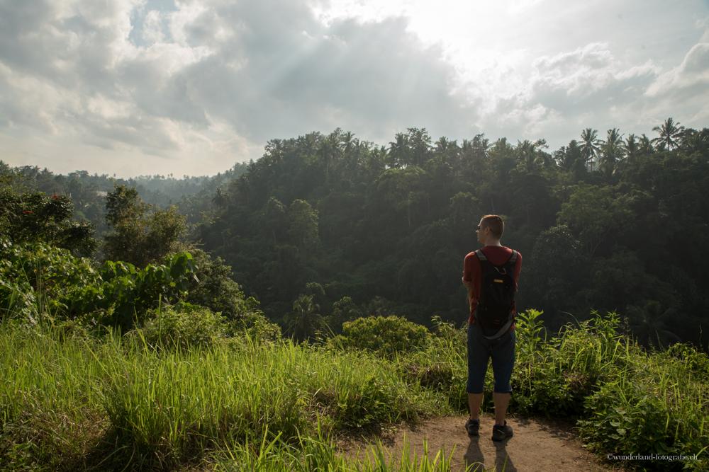 Spaziergang am Rande von Ubud