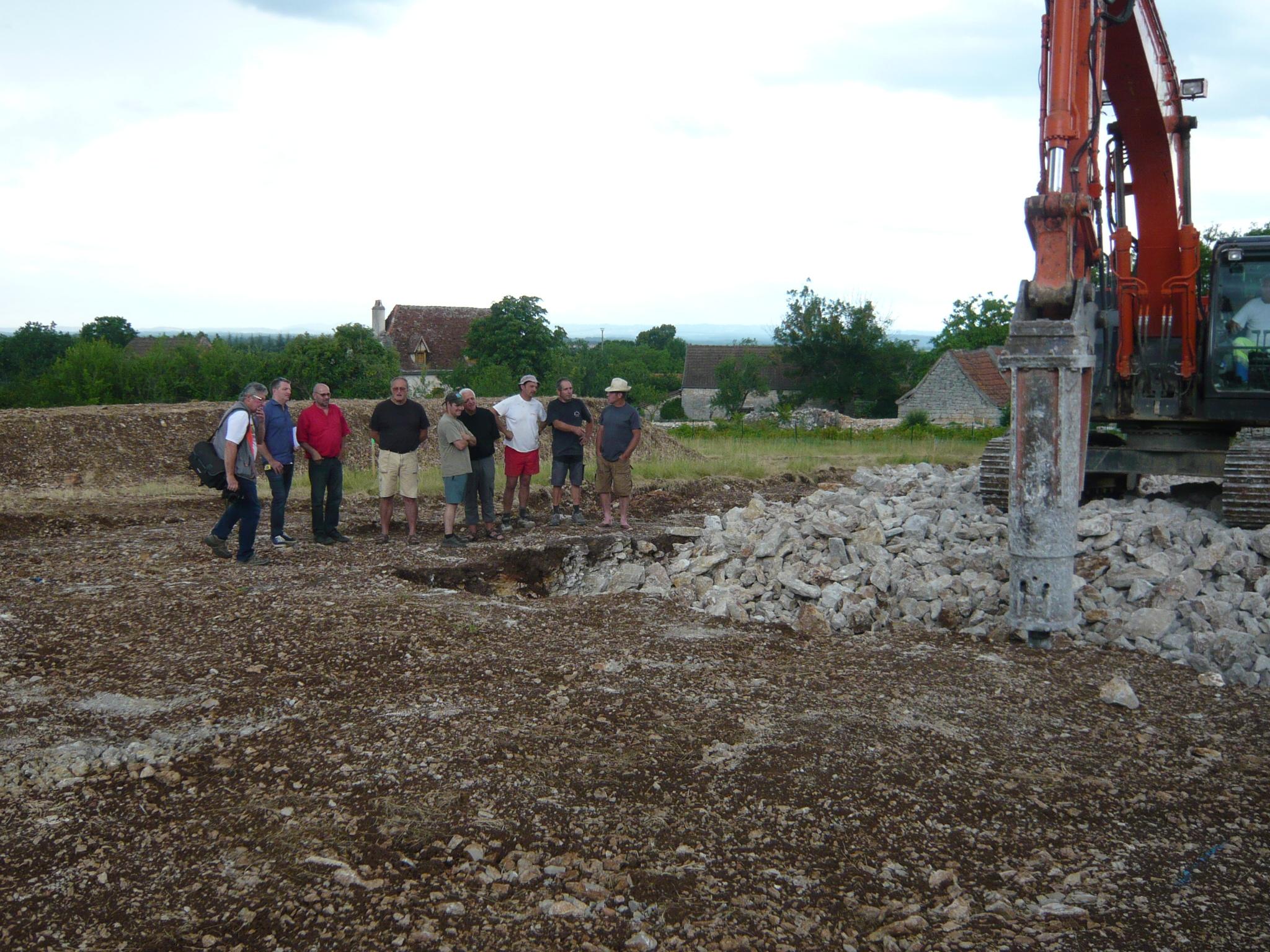 27 Juin : Réunion de chantier